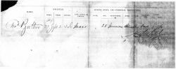 Butters: 1864 Document