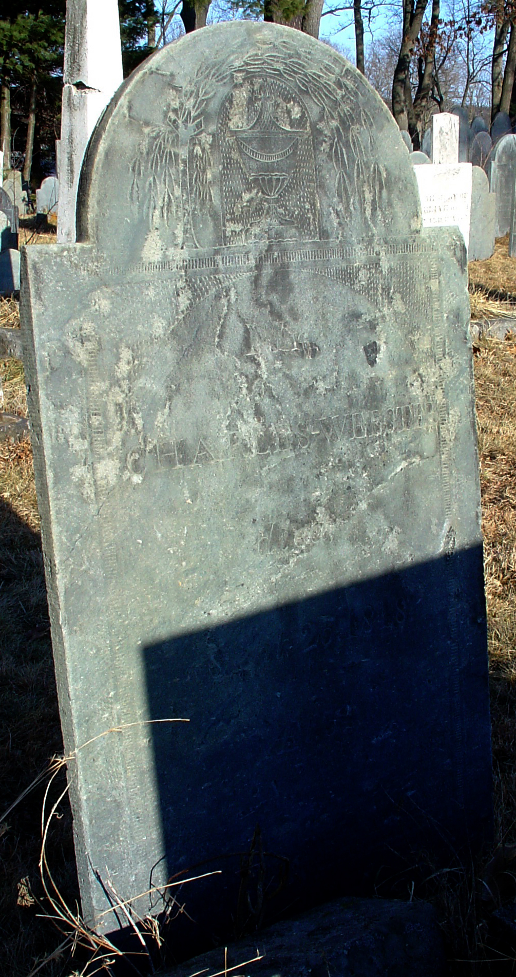 Webster, Charles (1787-1818) [Headstone photo]