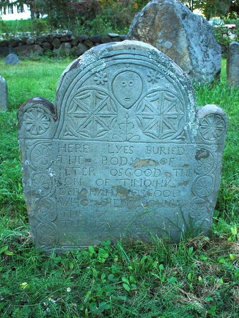 Osgood, Peter (1699-1715) [Headstone photo]