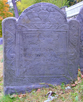 Munroe, William (1625-1717/18) [Headstone photo]