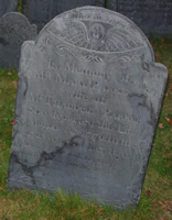 Parker, Mary Reed (17xx-1776) [Headstone photo]