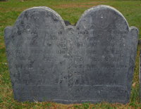 Stone, Samuel (1 Oct 1656-Jul 1723) [Headstone photo]