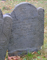 Munroe, Mary Ball (1652-1 Aug 1692) [Headstone photo]