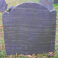 Munroe, Sarah (abt 1680-4 Dec 1752) [Headstone photo]