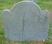 Converse, James (16 Nov 1645-8 Jul 1706) [Headstone photo]