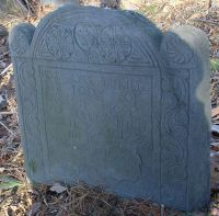 Day, Moses (abt 1673-1729) [Headstone photo
