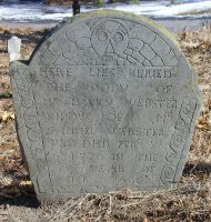 Webster, Mary Kimball (1693-1770) [Headstone photo]
