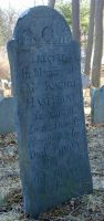 Haseltine, Rachel Frye (1716-1783) [Headstone photo]