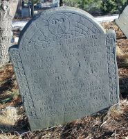 Webster, Ebenezer (1724-1768) [Headstone photo]