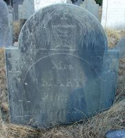 Webster, Mary Payson (1764-1818) [Headstone photo]