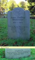 Bradstreet, Anne Dudley (1612 - 1672) [Memorial photo]