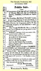 Maynard: 1830 News clipping