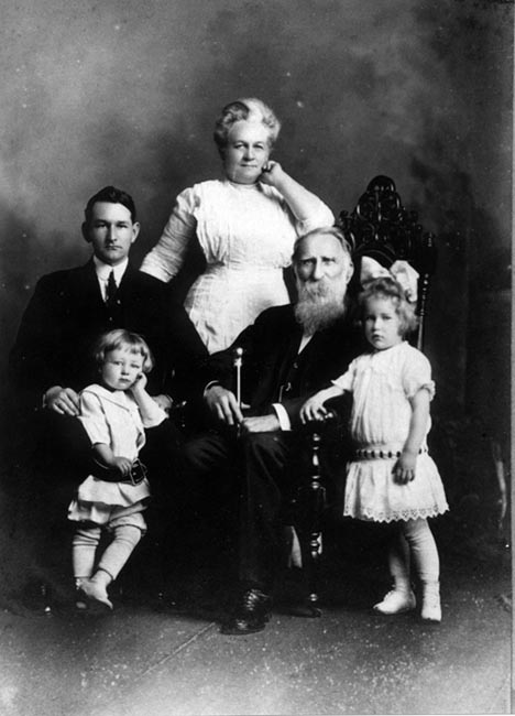 Webster family c. 1915