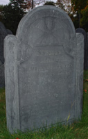 Parker, Thaddeus [Headstone photo]