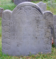 Stone, Isaac (1659-1690) [Headstone photo]