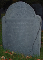 Munroe, William (17 Dec 1703-1747) [Headstone photo]
