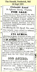 Downey: 1831 News clipping